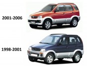 Terios 1997 - 2006 (125)